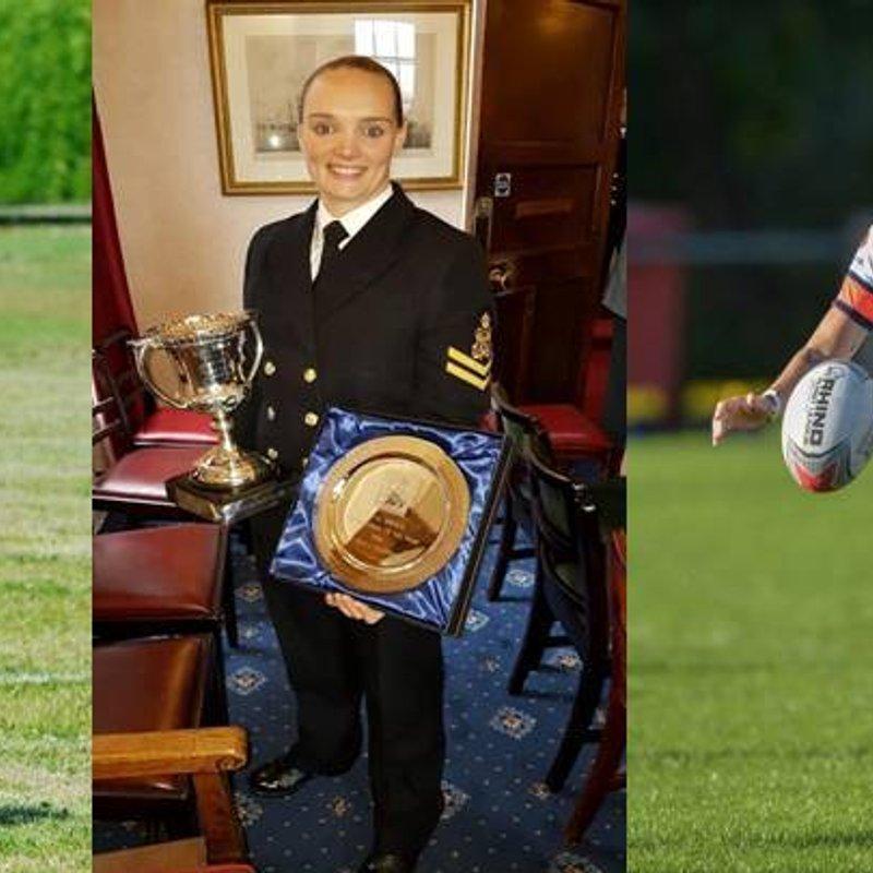 Royal Navy Sports Board  Sports Woman Of The Year Sam Alderson
