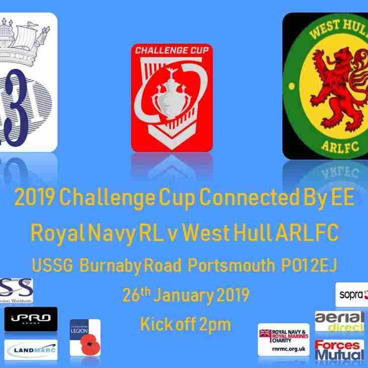 2019 Challenge Cup 1st Round Connected by EE