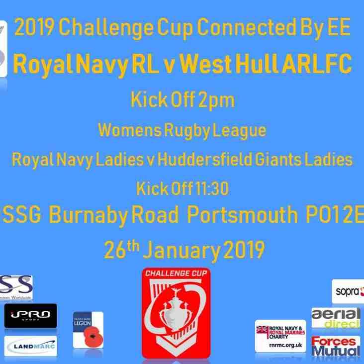 Challenge Cup Update