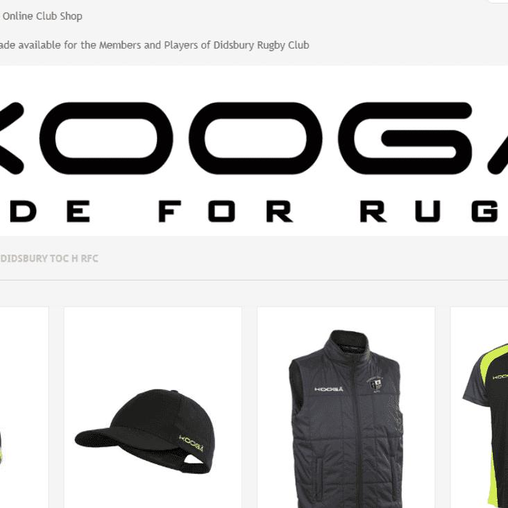 Kooga Clubshop goes live!
