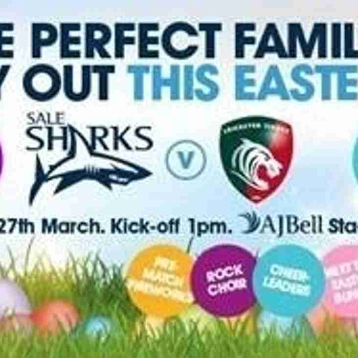 Toc H – Sunday at Sale Sharks