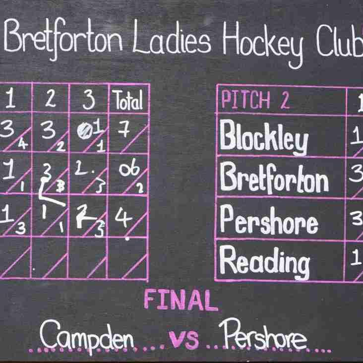 Chipping Campden finish 2nd in Bretforton Hockey Clubs Summer Tournament