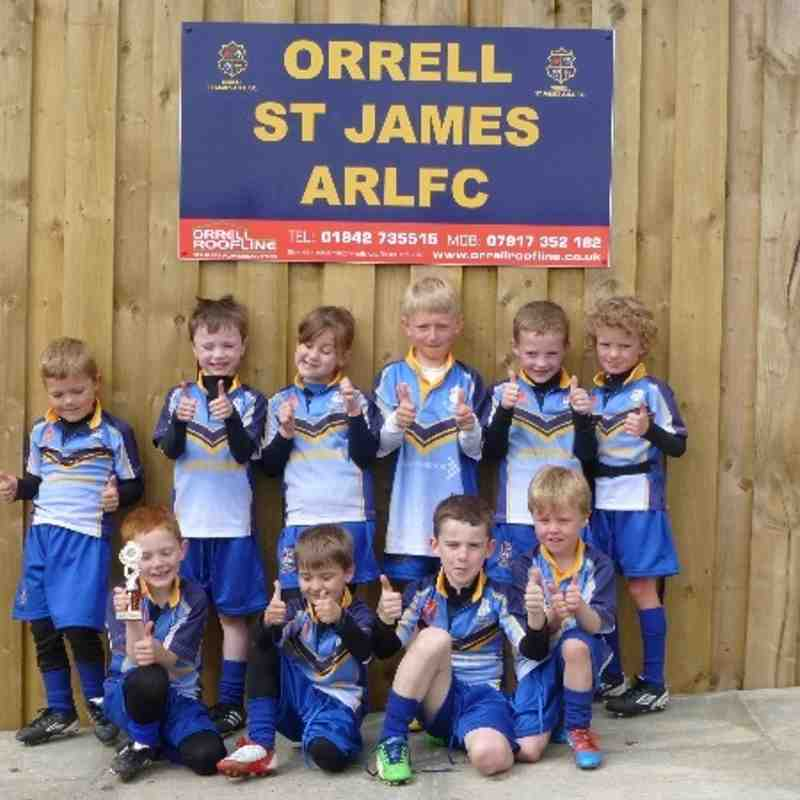 OSJ U7s Blues V Rylands 19-05-13
