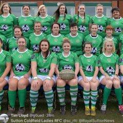 Ladies vs Wolverhampton (home) 28/01/18