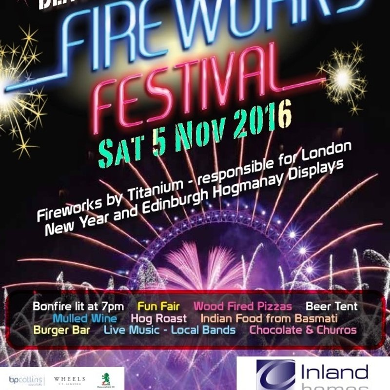 Beaconsfield Fireworks Festival and Bonfire 2016