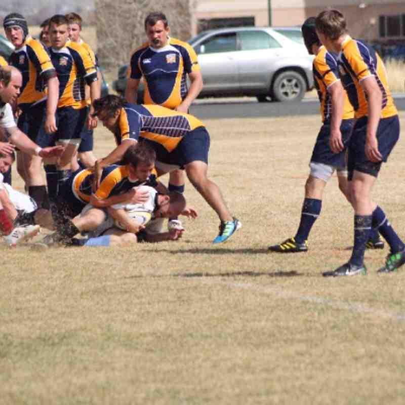 WSC rugby / Regis 3.31.12