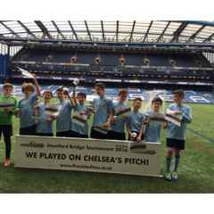 Kew U12 Youth in Finals at Stamford Bridge