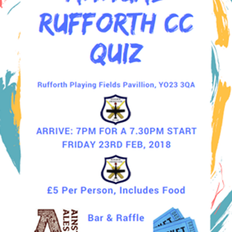 The Annual Quiz Night