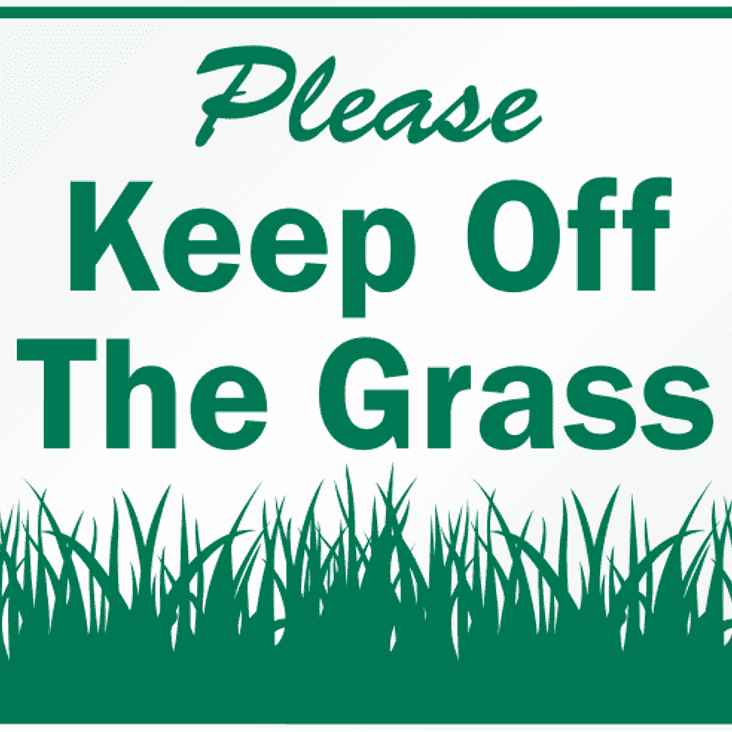 A Polite Request: Hay Lodge Reseeding