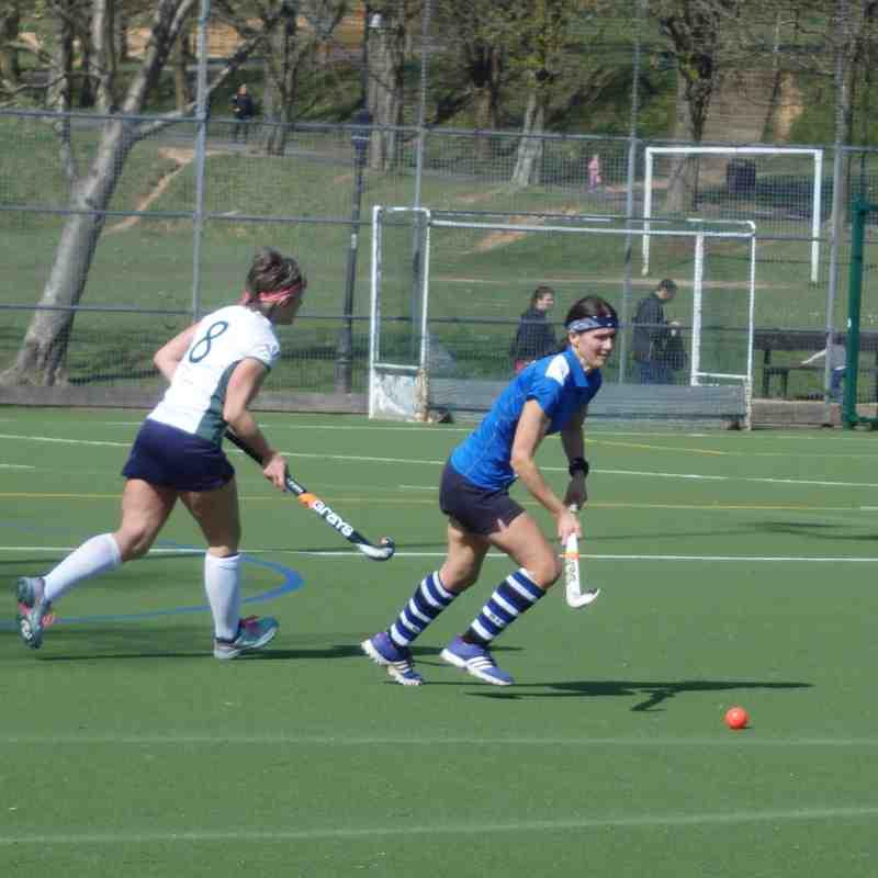 Ladies 1st XI cup game vs Havant 260317