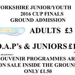 U12s In Cup Final Action