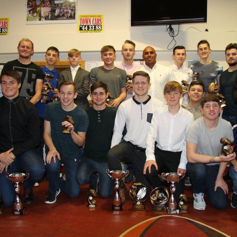 Batley Boys U16's Presentation Night 2016