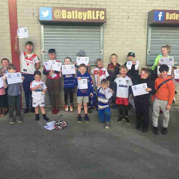 BATLEY BULLDOGS FEBRUARY HALF TERM ACTIVITY CAMP