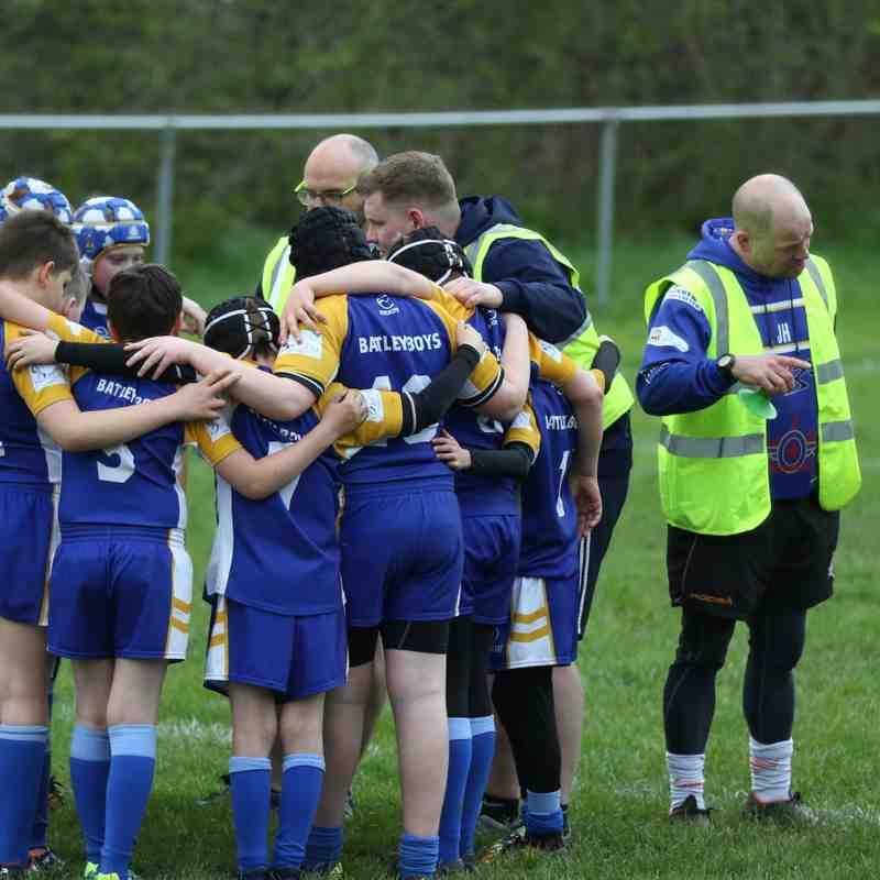 Batley Boys V Keighley Albion U12s 28.4.18