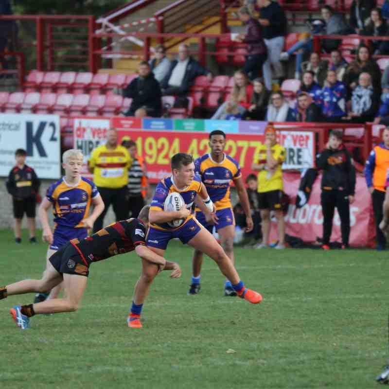 Batley Boys V Shaw Cross U14s Local Cup Final 13.09.18