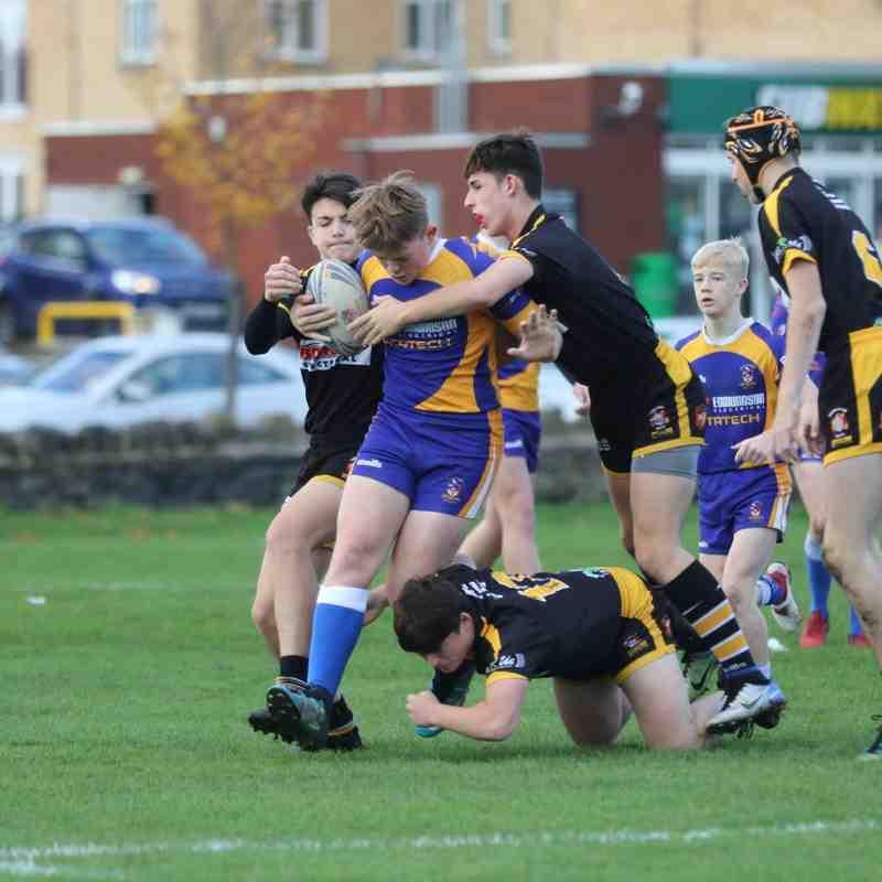 Batley Boys V Skirlaugh U14s 21.10.18