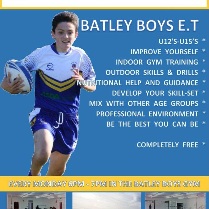 Batley Boys E.T<