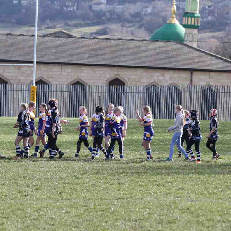 Batley Girls V Greetland All Rounders U12s 16.02.19