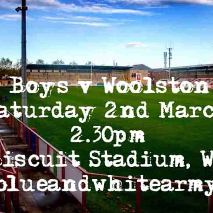 Batley Boys V Woolston Rovers