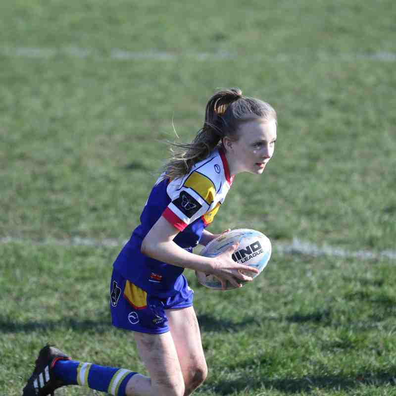Batley Girls V East Leeds U12s 23.02.19