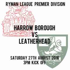 Next  Home  Match, Saturday v Leatherhead