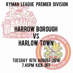 First  Home League Match, Tuesday v Harlow Town