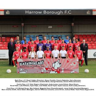 HARROW BOROUGH 2   HARLOW TOWN 1