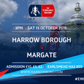 HARROW BOROUGH 2  MARGATE 2