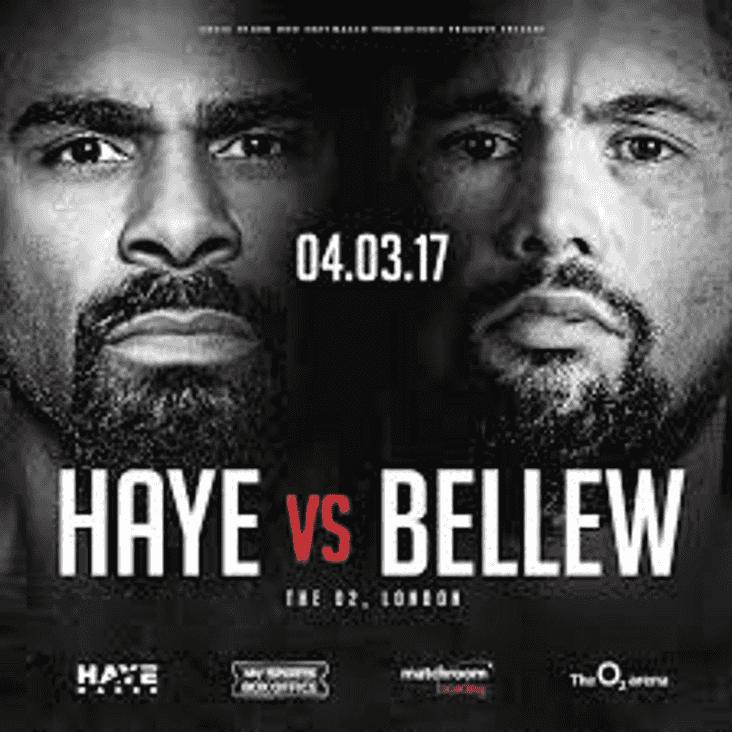 Fight Night, David Haye v Tony Bellew
