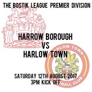 HARROW BOROUGH 2   HARLOW TOWN 1