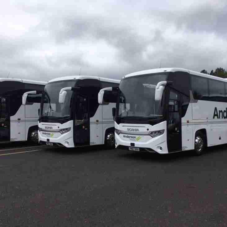 Away Coach Travel to Taunton