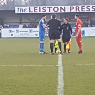 LEISTON  3   HARROW  BORO 0