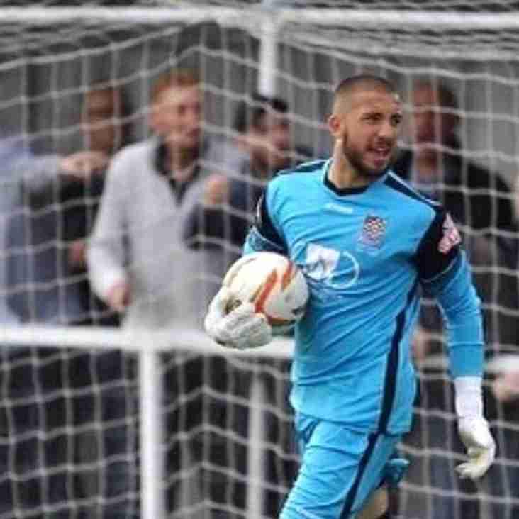Harrow Secure New  Goalkeeper