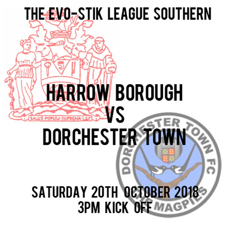 HARROW BORO 4  DORCHESTER TOWN 1