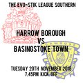 HARROW BORO 2  BASINGSTOKE TOWN 1