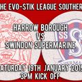 Harrow Borough vs. Swindon Supermarine