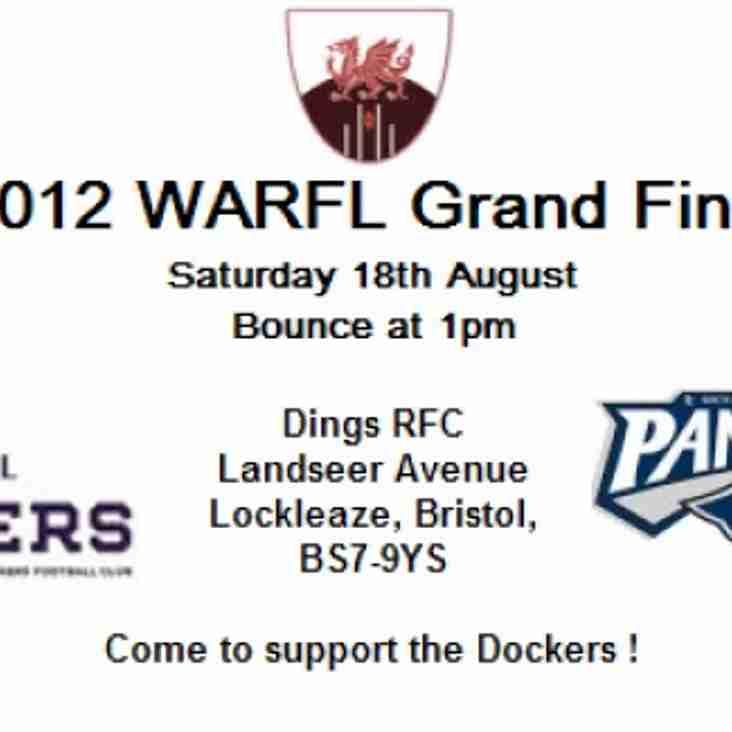 2012 WARFL Grand Final
