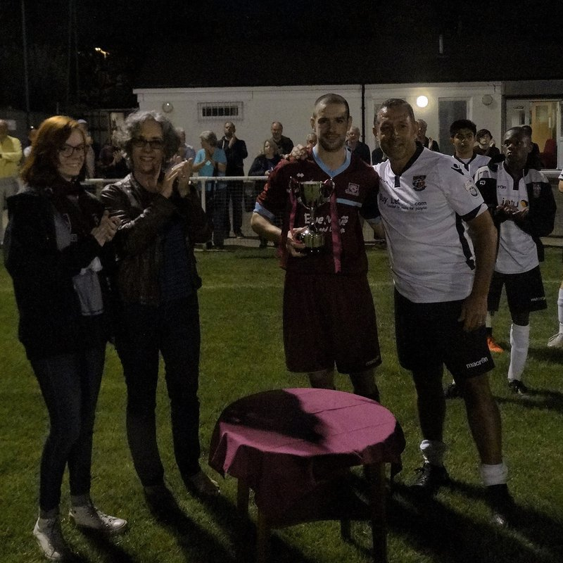 Johnny Johnson Cup Won by the Rams