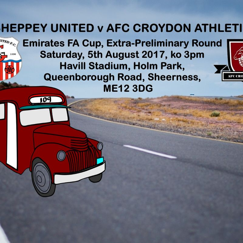 Preview - FA Cup at Sheppey United