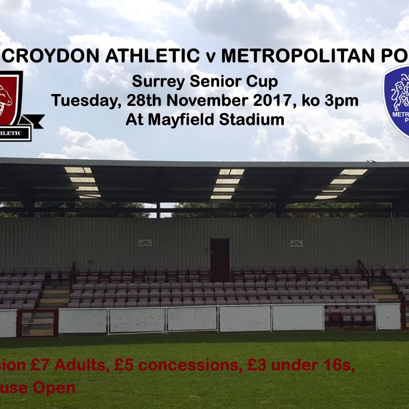 Preview - Metropolitan Police FC