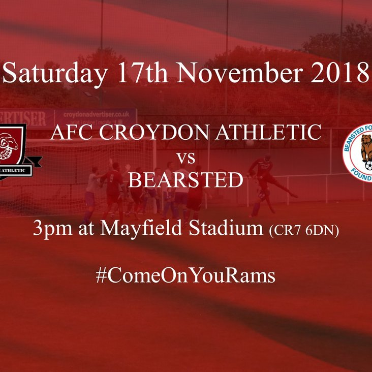 Bearsted Next Up for Rams<
