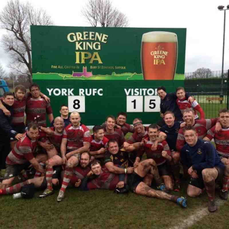 Cleckheaton Kestrels win away at York