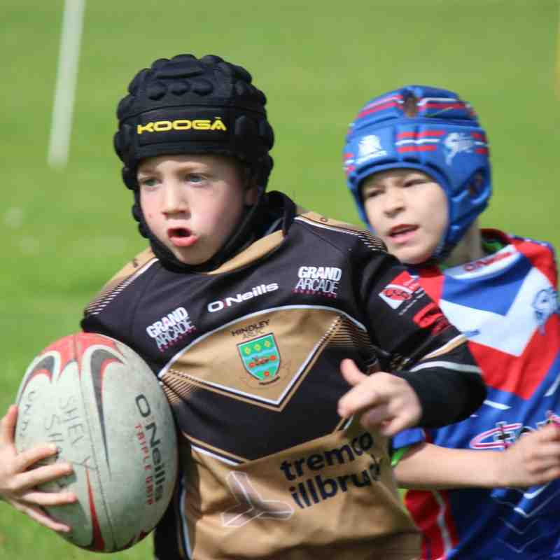 U7s v Shevington Sharks 22/5/16