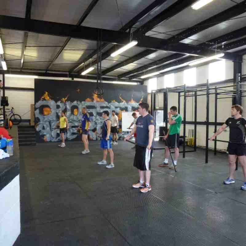 CrossFit Session 29-7-12