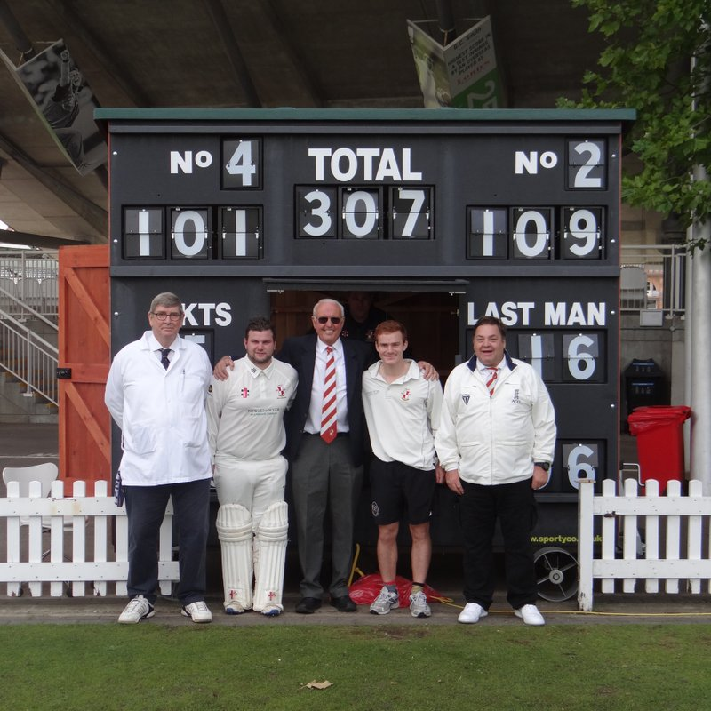 Victory at the Home of Cricket v Cross Arrows