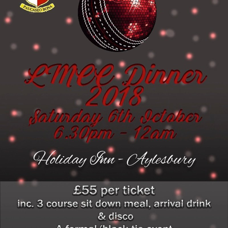 LMCC October 18 Black Tie Dinner
