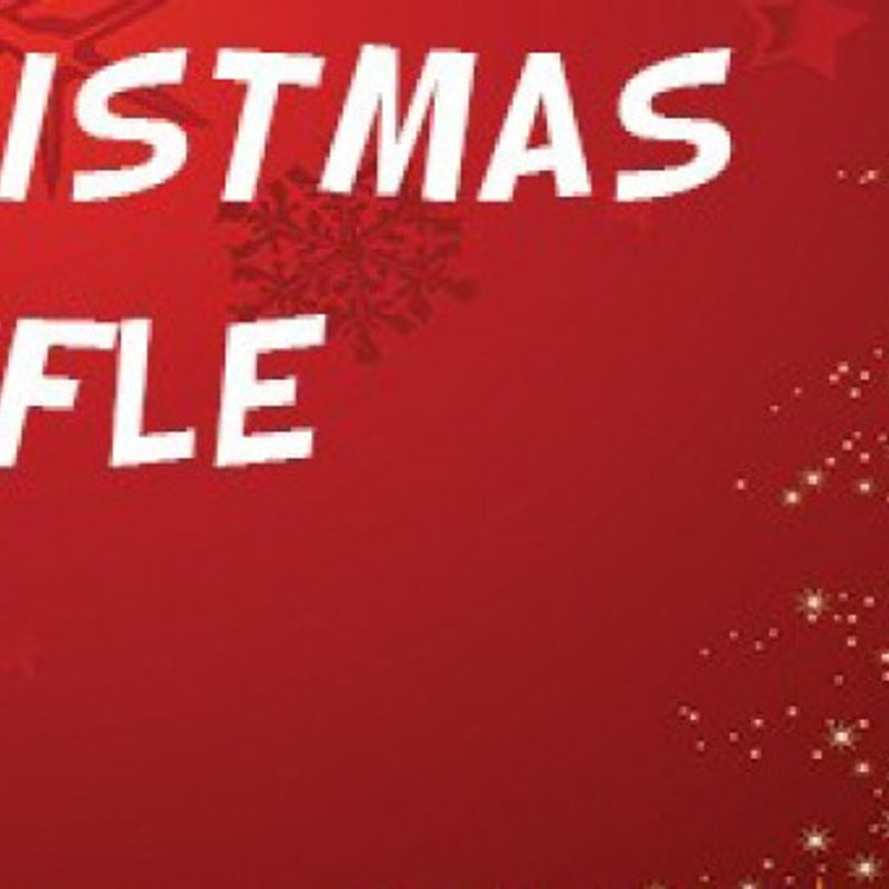 Christmas Raffle Tickets Now On Sale