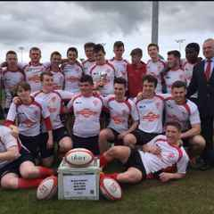 Malone U18 Win the Ulster Carpet Bowl