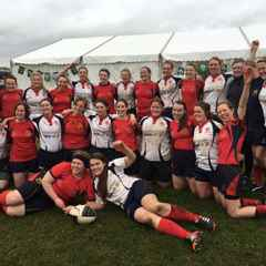 Malone Ladies lose out in the Final of the Carrick 7's to Cavan