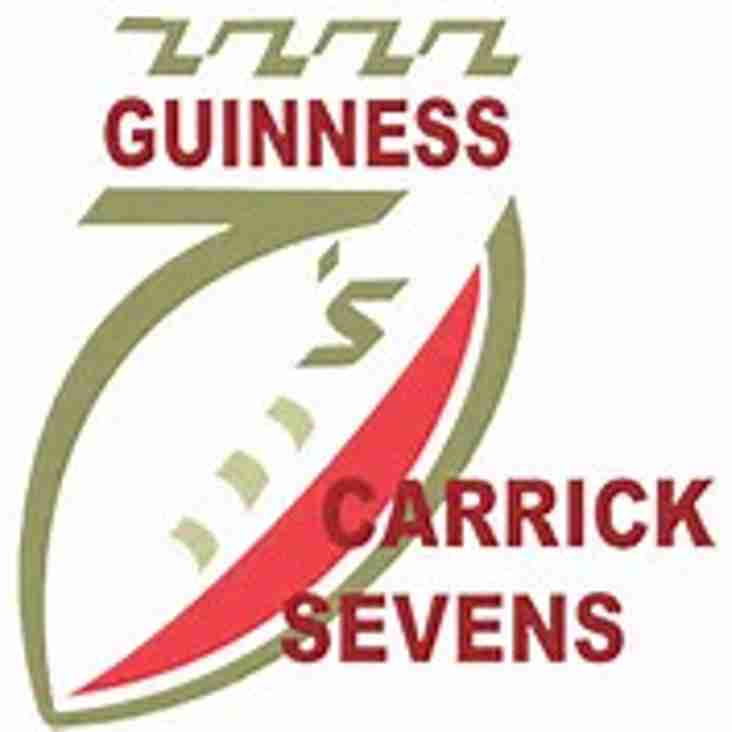The forty-fifth Guinness Carrick Sevens - report by George Millar